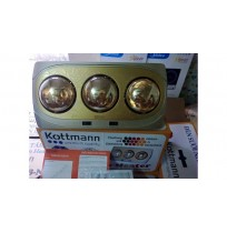 Đèn sưởi nhà tắm 3 bóng Kottmann K3B-NV