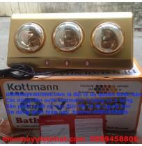 Đèn sưởi nhà tắm Kottmann 3 bóng K3B-Y