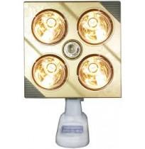 Đèn sưởi nhà tắm Kottmann K4B-G có 4 bóng vàng